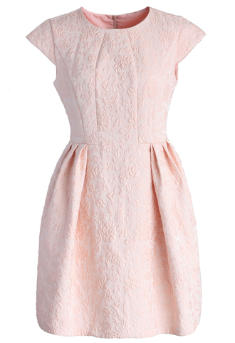 dress chicwish summer dress floral dress pink dress party dress chicwish.com