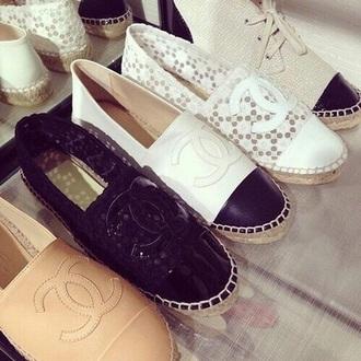 shoes flats chanel shoes