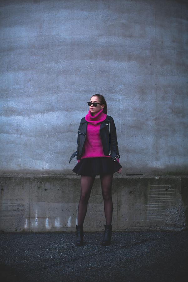 kenza sweater skirt jacket sunglasses shoes