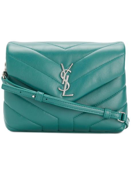 women bag crossbody bag leather green