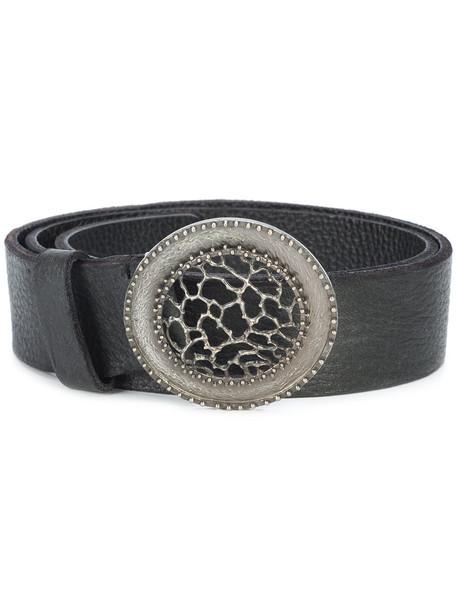 Ivo Scunzani women belt leather black