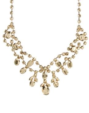 ASOS | ASOS – Premium – Halskette mit Strasssteinverzierung bei ASOS