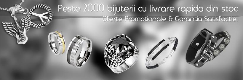 Bijuterii inox, bratari piele, verighete, bijuterii titan si bijuterii tungsten - Bijuterii24.ro - Magazin Online