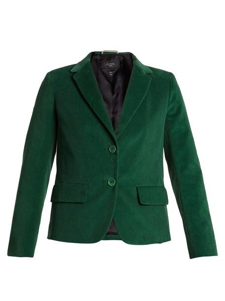WEEKEND MAX MARA jacket green