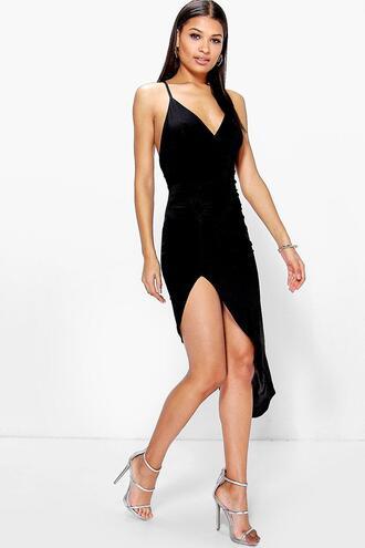 dress asymmetric dress black dress boohoo dress black asymmetric dress bodycon dress black bodycon dress