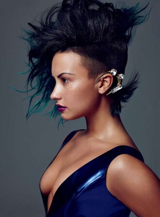 ear cuff demi lovato hairstyles jewels