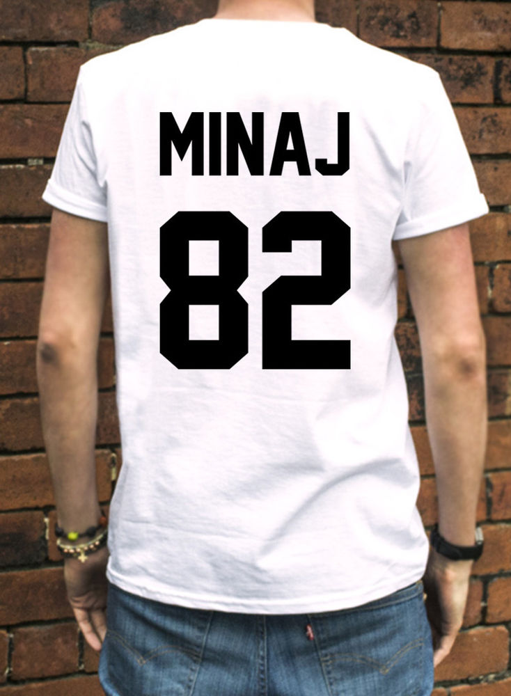 Nicki Minaj 82 Tshirt Rap Hip Hop Pink Print Tour Music