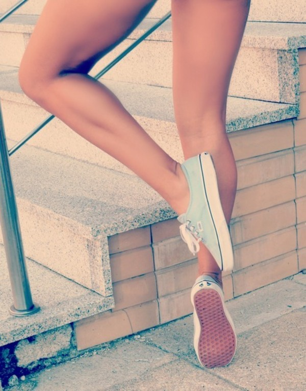 shoes vans light blue cute trainers light blue vans vans vans pastel sneakers