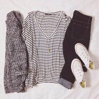 shoes converse cardigan coat jeans