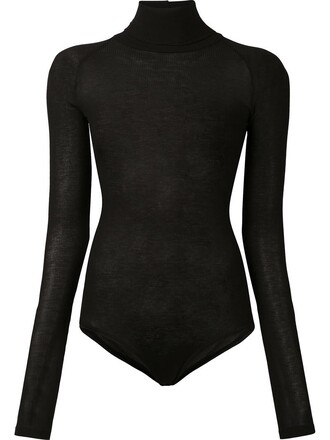 bodysuit women black underwear