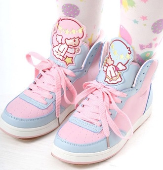 shoes kawaii pastel harajuku japan pastel sneakers
