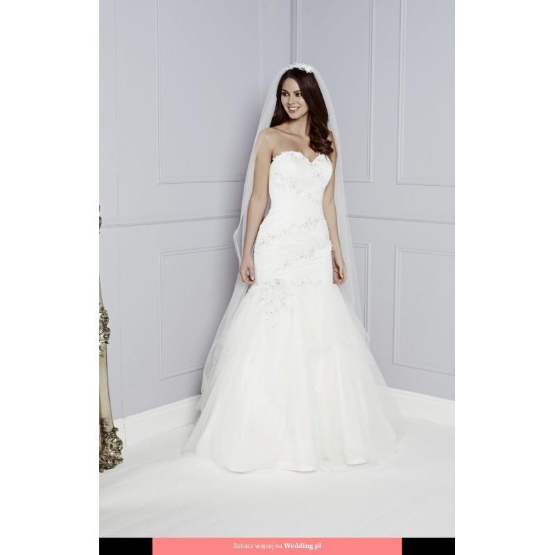 412def668a4 Amanda Wyatt - Renee Blue Iris Floor Length Sweetheart Mermaid Sleeveless  Short - Formal Bridesmaid Dresses ...
