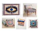 home accessory,mara hoffman,interior,home decor,boho decor,beautiful