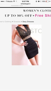 dress,black and gold