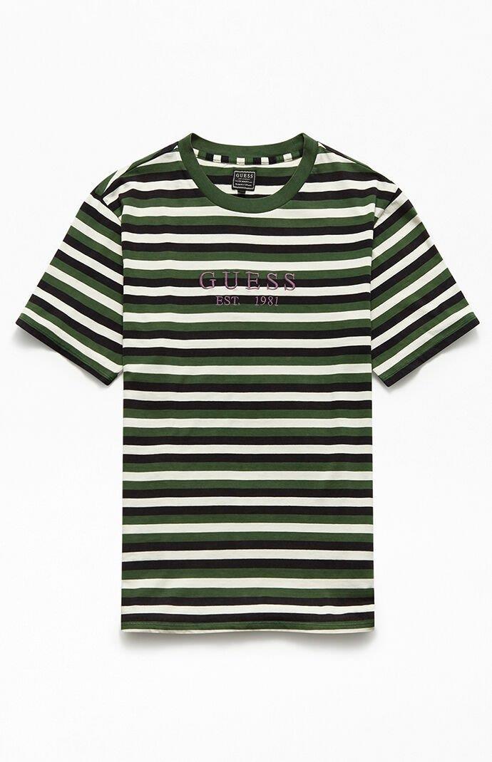 Hillshurt Logo Stripe T-Shirt