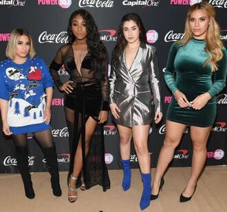 dress mini dress bodycon dress fifth harmony lauren jauregui dinah hansen dinah jane hansen ally brooke normani hamilton normani kordei hamilton blazer dress