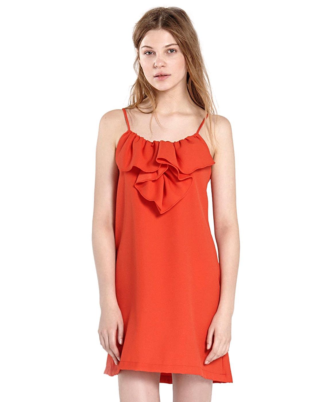Red dress by Compañía Fantástica