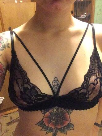 tank top lace bralette lace lingerie sexy lace bralettes black lace crop top lacey bralettes triangle bralette triangel bikini triangle bra
