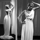 dress,grecian maxi dress,white dress,elegant dress,bridal dresses