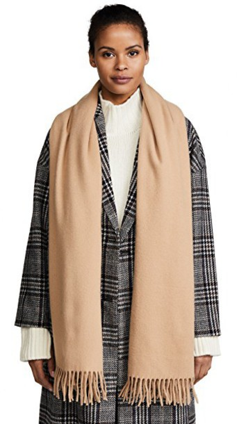 Acne Studios scarf camel