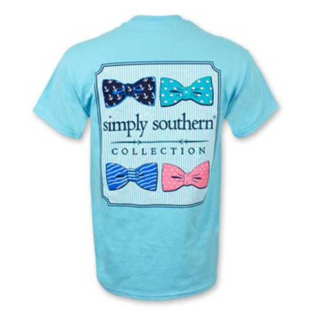 shirt simply southern southern shirt preppy blue