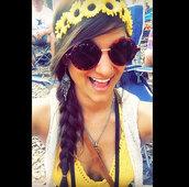 hair accessory,flower crown,flower halo,hippie,hippie chic,boho,boho chic,bohemian,festival,edc,edm,sunflower,coachella,bonnaroo,tomorrowland,flower headpiece,hippie headband