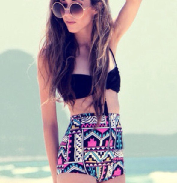 swimwear style tribal pattern