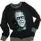 Herman munster the munsters comic illustration printed sweatshirt top