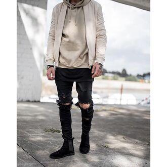 jacket maniere de voir beige suede satin panelled bomber jacket 36683