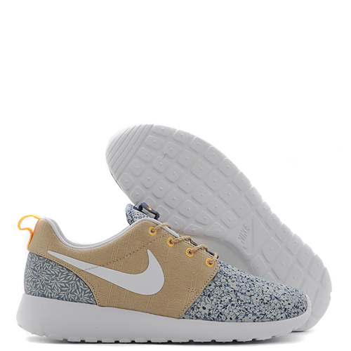 Nike Women's Rosherun Liberty Of London Qs / Blue Recall - Livestock