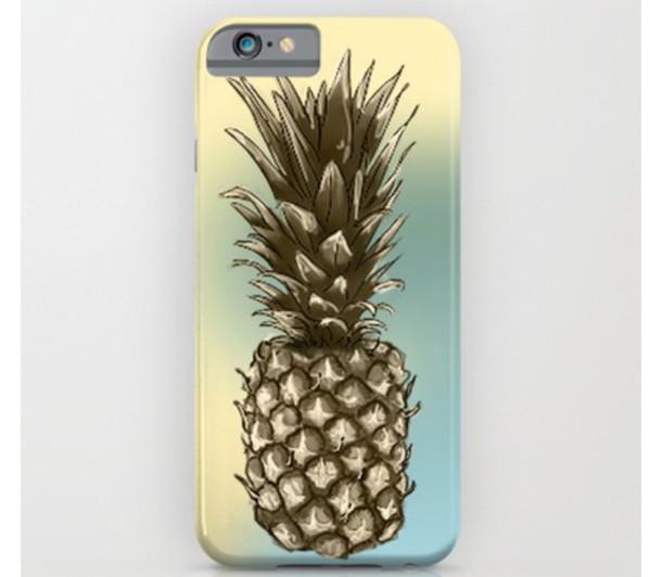 phone cover sammy cee pineapple iphone cover galaxy phone case society6