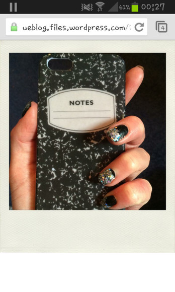 jewels iphone phone phone case notes school notebook silver