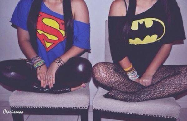 t-shirt batman superman
