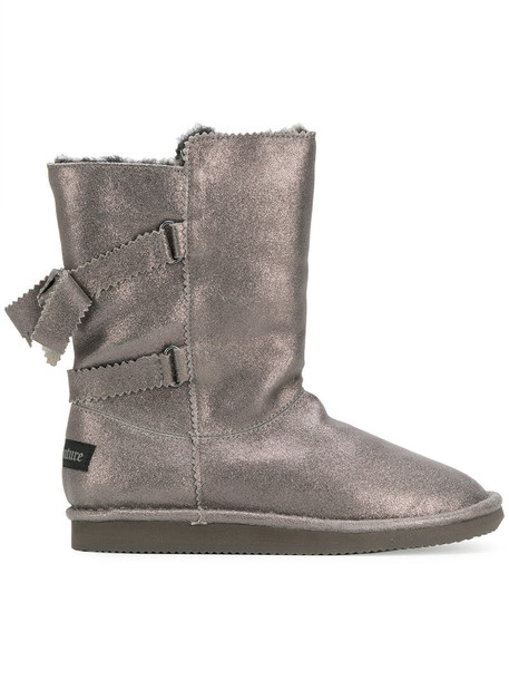 Juicy Couture women leather grey shoes