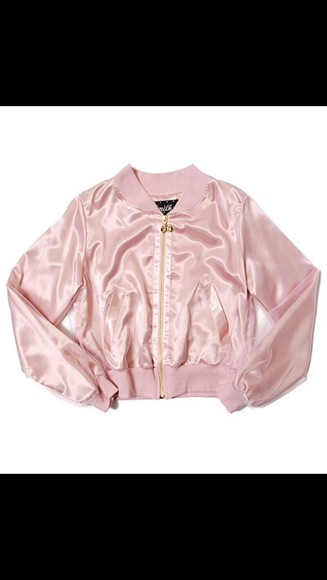 vintage jacket pinkladies silk puffy pink jacket pinkk puffy jacket tumblr outfit