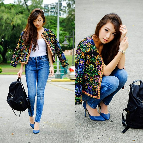 Wagw Top, Bella Schu Sandals, House Of Luxe Necklace, Edge Co Bracelets - Hanging with Exclusives - Kryz Uy | LOOKBOOK