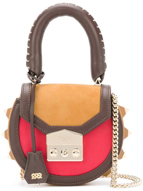 mini shoulder bag mini women bag shoulder bag leather suede brown