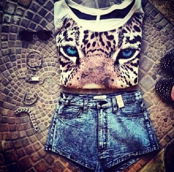 shirt shorts leopard shirt beige black gray leopard print shorts