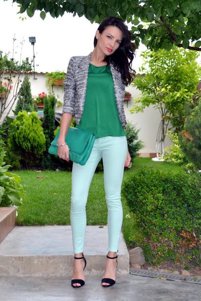 my silk fairytale jacket pants blouse bag shoes jewels