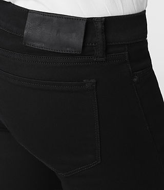 Womens Roseport Ashby Jeans (Black) | ALLSAINTS.com