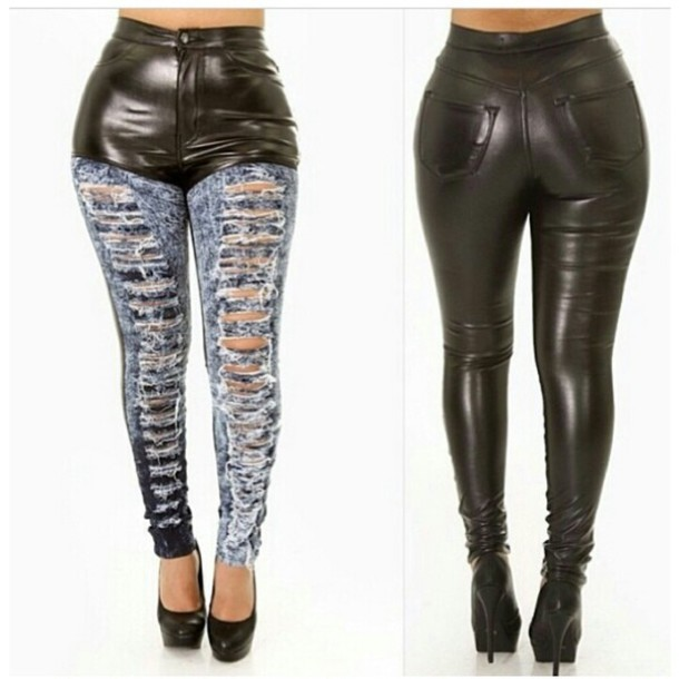 Sexy Destroyed Skinny Jeans - Shop for Sexy Destroyed Skinny Jeans ...