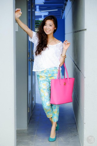 kryzuy t-shirt pants jewels bag