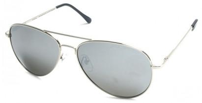Polarized classic mirrored lens aviator sunglasses
