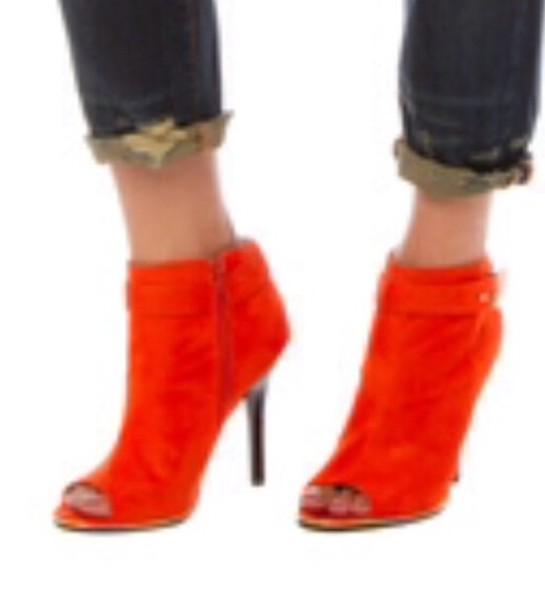 shoes orange