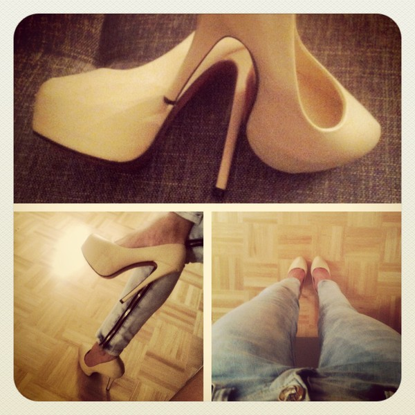 shoes high heels nude high heels