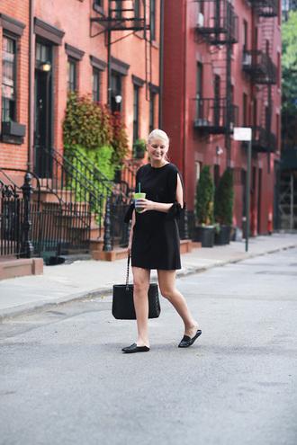 style archives | the style scribe blogger shoes bag black bag black dress mini dress long sleeves black flats