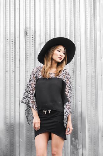 atsuna matsui atsuna matsui » blogger blouse skirt top shoes belt