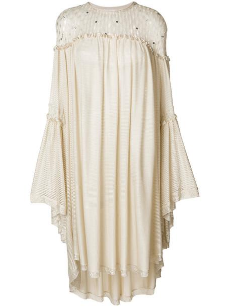 Sonia Rykiel dress shift dress women nude