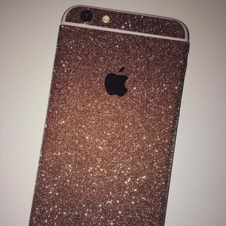 phone cover gold gold glitter iphone 6 case iphone 6 plus iphone cover phone iphone gold cover