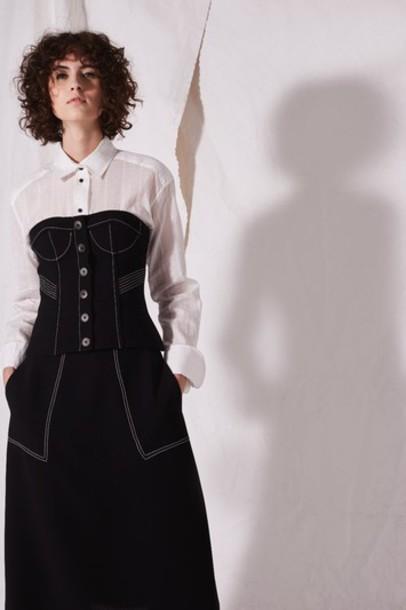 Topshop skirt black